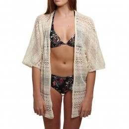 ONeill Lace Kimono Creme Brulee