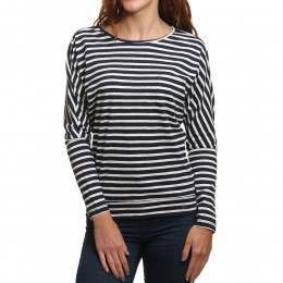 ONeill Jacks Base Striped Top White/Blue