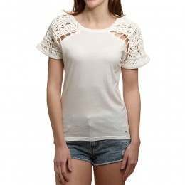 ONeill Knot Shoulder Tee Powder White