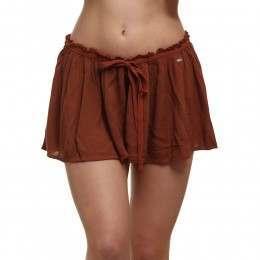 ONeill Beach Boho Shorts Rustic Brown