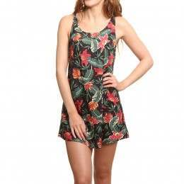 ONeill Rosebowl Dress Black/Pink