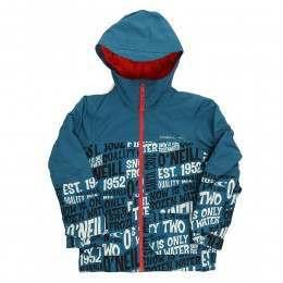 ONeill Boys Hubble Snow Jacket Blue AOP