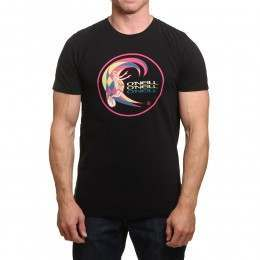 ONeill The Wave Heritage Tee Black Out