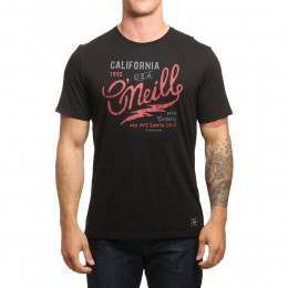 ONeill Logo Type Tee Black Out