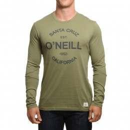 ONeill Type Long Sleeve Top Camp Green