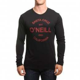 ONeill Type Long Sleeve Top Black Out