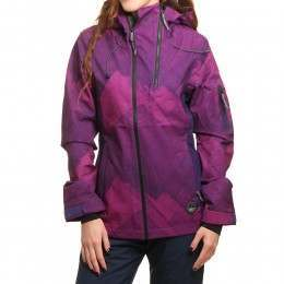 ONeill Jones Contour Snow Jacket Purple AOP