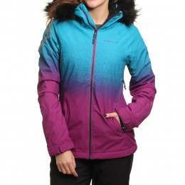 ONeill Curve Snow Jacket Pink AOP