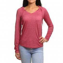 ONeill Marly Long Sleeve Top Sangria Red
