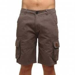 Animal Agouras Cargo Shorts Pewter Grey