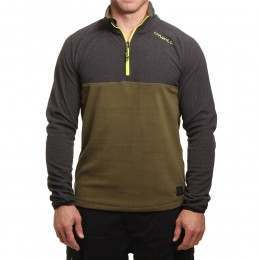 ONeill Ventilator Half Zip Fleece Dark Olive