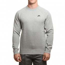 Nike SB Icon Crew Grey Heather/Black