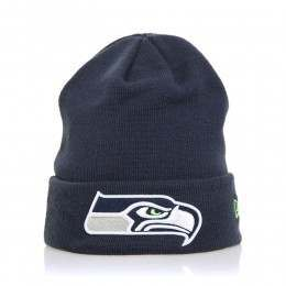 New Era Seattle Seahawks Essential Cuff Beanie OTC