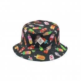 Barts Kids Antigua Reversible Bucket Hat Navy