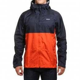 Patagonia Torrentshell Jacket Navy Blue/Red