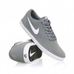 Nike SB Check Solar Shoes Cool Grey/White