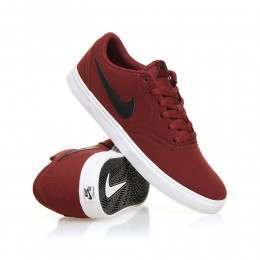 Nike SB Check Solar Shoes Dark Team Red/Sail