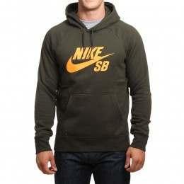 Nike SB Icon PO Hoody Sequoia/Orange