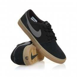 Nike SB Portmore II Solar Shoes Black/Grey/Gum
