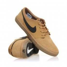Nike SB Portmore II Solar Shoes Beige/Black/Gum