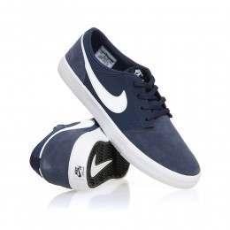 Nike SB Portmore II Solar Shoes Navy/White