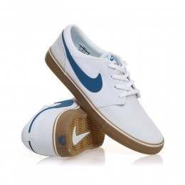 Nike SB Portmore II Solar Shoes White/Ind Blue