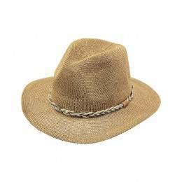 Barts Gamble Straw Hat Natural