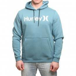 Hurley Surf Check One & Only Hoody Noise Aqua