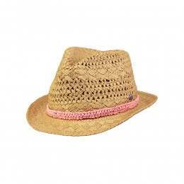 Barts Kids Famous Straw Hat Brown