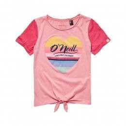ONeill Girls Shine Tee Geranium Pink