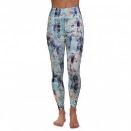 ONeill Print High Rise Leggings Blue/Pink/Purple