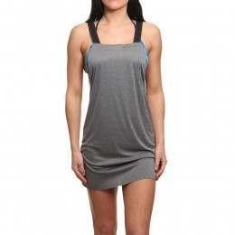 Hurley Quick-Dry Tank Dress Black Heather