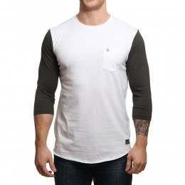 Volcom Drexler 3/4 Sleeve Top White