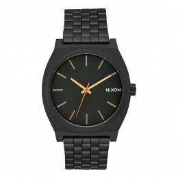 Nixon The Time Teller Watch All Black/Surplus