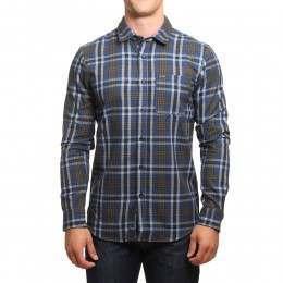 Volcom Marcos L/S Shirt Smokey Blue