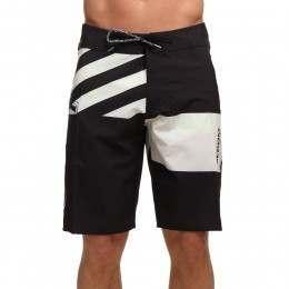 Volcom Lido Block MOD Boardshorts Black/White
