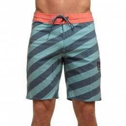 Volcom Stripey Slinger Boardshorts Sea Blue