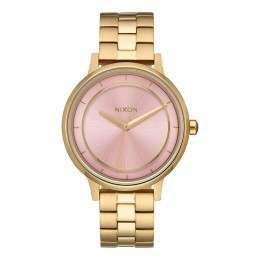 Nixon The Kensington Watch Light Gold/Pink