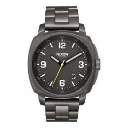 Nixon The Charger Watch All Gunmetal