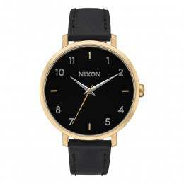 Nixon The Arrow Leather Watch Gold/Black