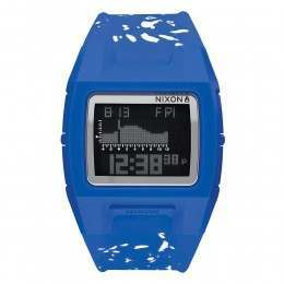 Nixon The Lodown Silicone Watch Cobalt Speckle