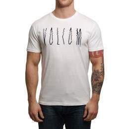 Volcom Smear Tee White
