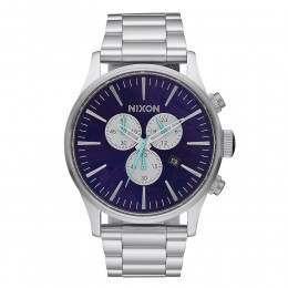 Nixon The Sentry Chrono Watch Purple