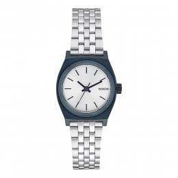 Nixon The Small Time Teller Watch Navy/Silver
