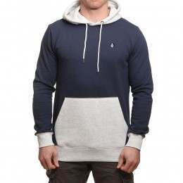 Volcom Single Stone Division Hoody Deep Blue