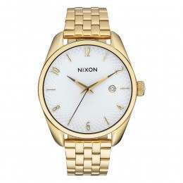 Nixon The Bullet Watch Gold/White