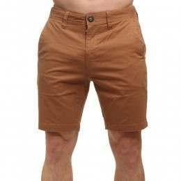 Volcom Frickin Slim Shorts Camel