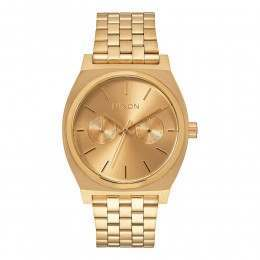 Nixon The Time Teller Deluxe Watch All Gold