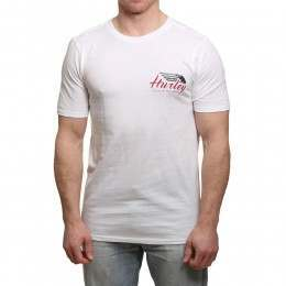 Hurley Wings Up Tee White