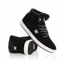 DC Crisis High WNT Shoes Black/White